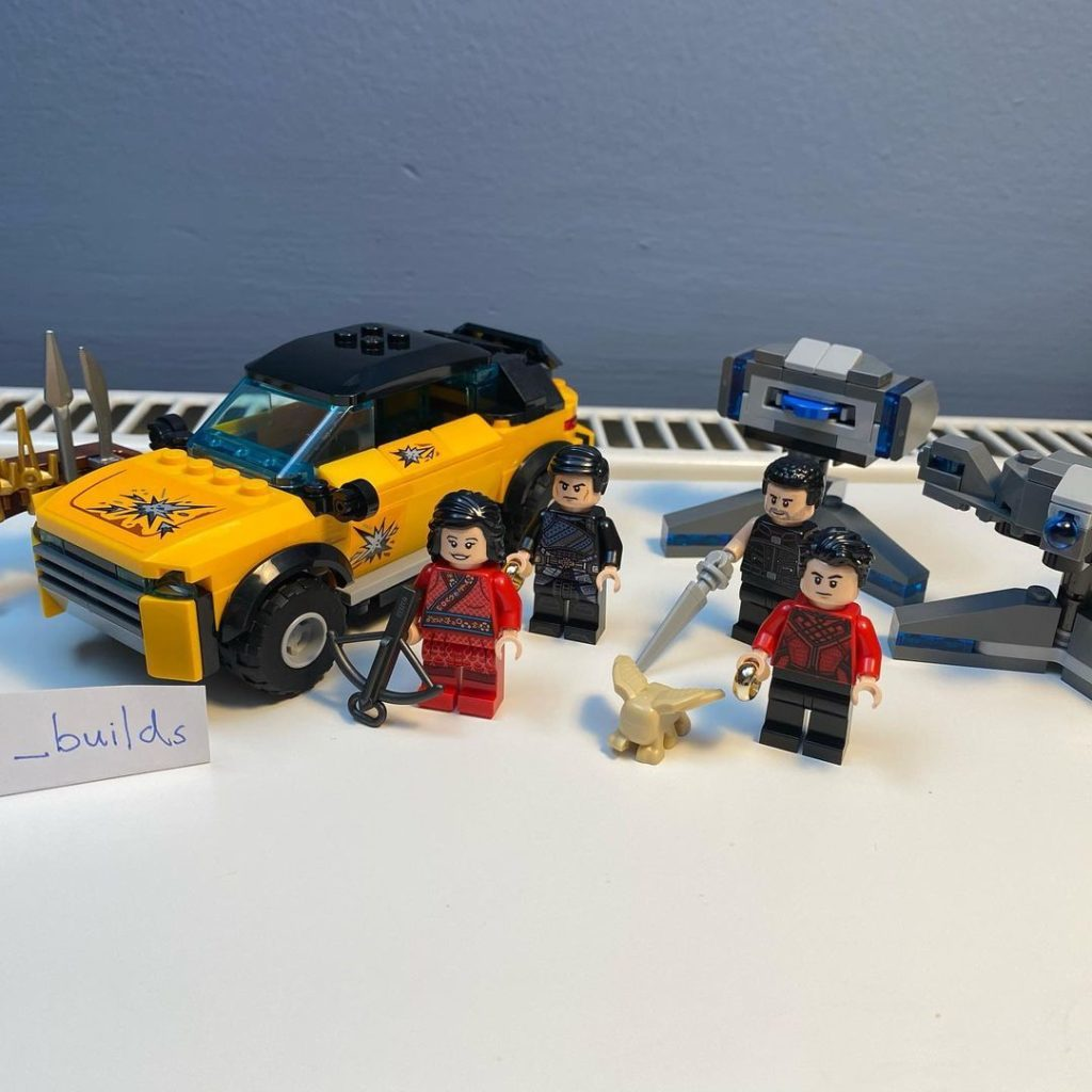 LEGO Marvel 76176 Escape from the Ten Rings spotted 1