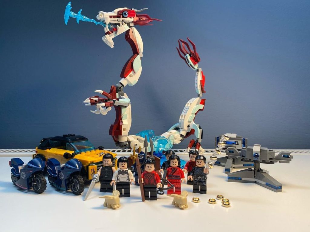 LEGO Marvel 76176 Escape From The Ten Rings Spotted 2