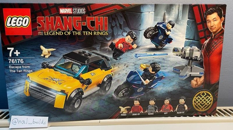 LEGO Marvel 76176 Escape from the Ten Rings spotted featured