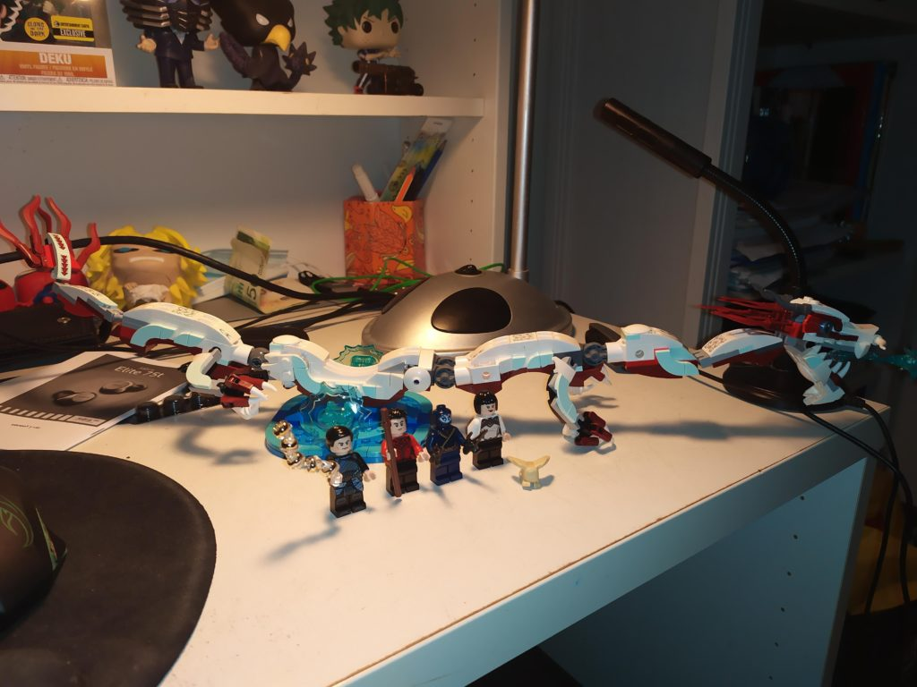 LEGO Marvel 76177 Battle At The Ancient Village Unboxed 5