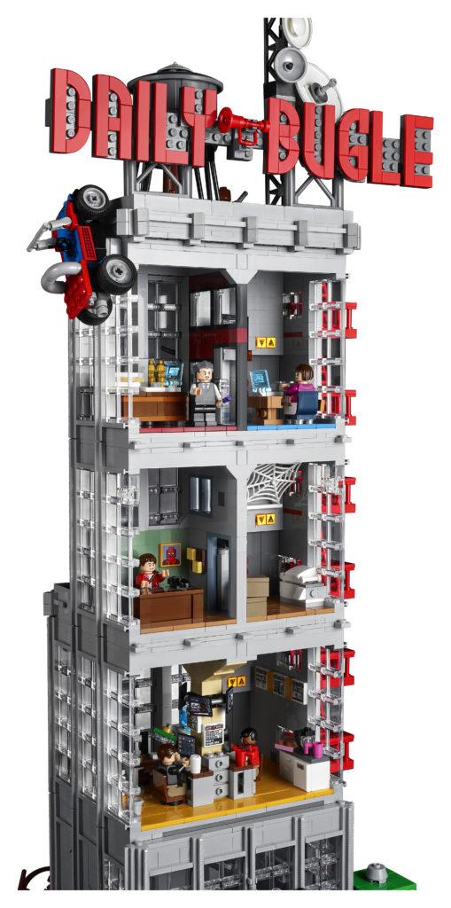 LEGO Marvel 76178 Daily Bugle 2
