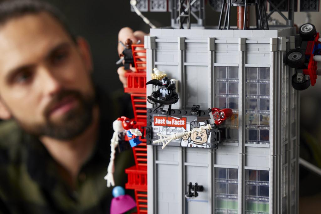 LEGO Marvel 76178 Daily Bugle 25