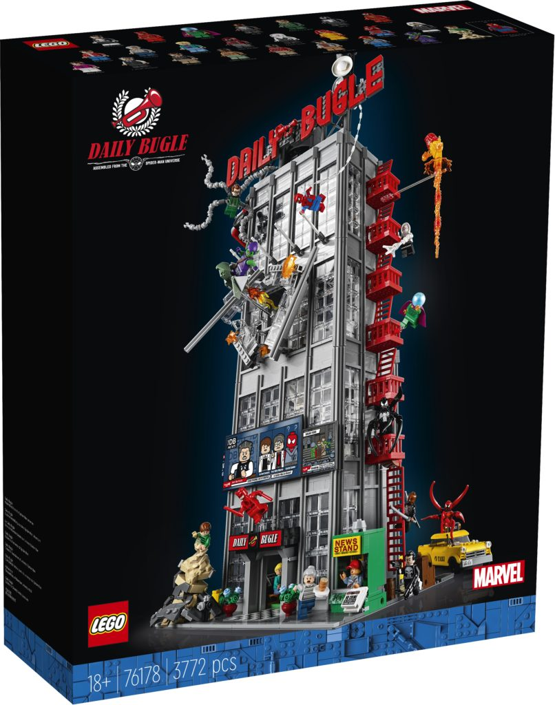 LEGO Marvel 76178 Daily Bugle 3