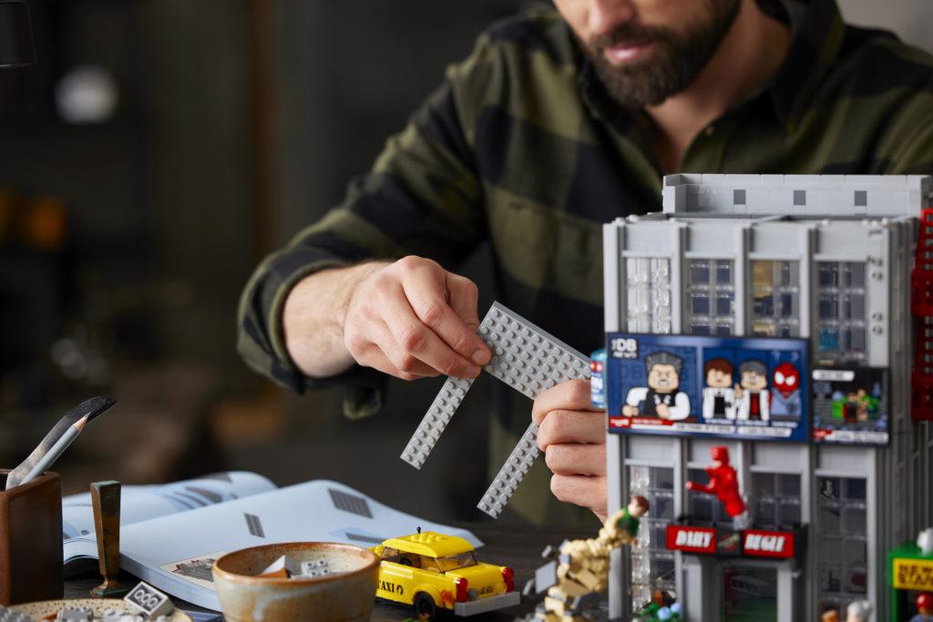 LEGO Marvel 76178 Daily Bugle 34