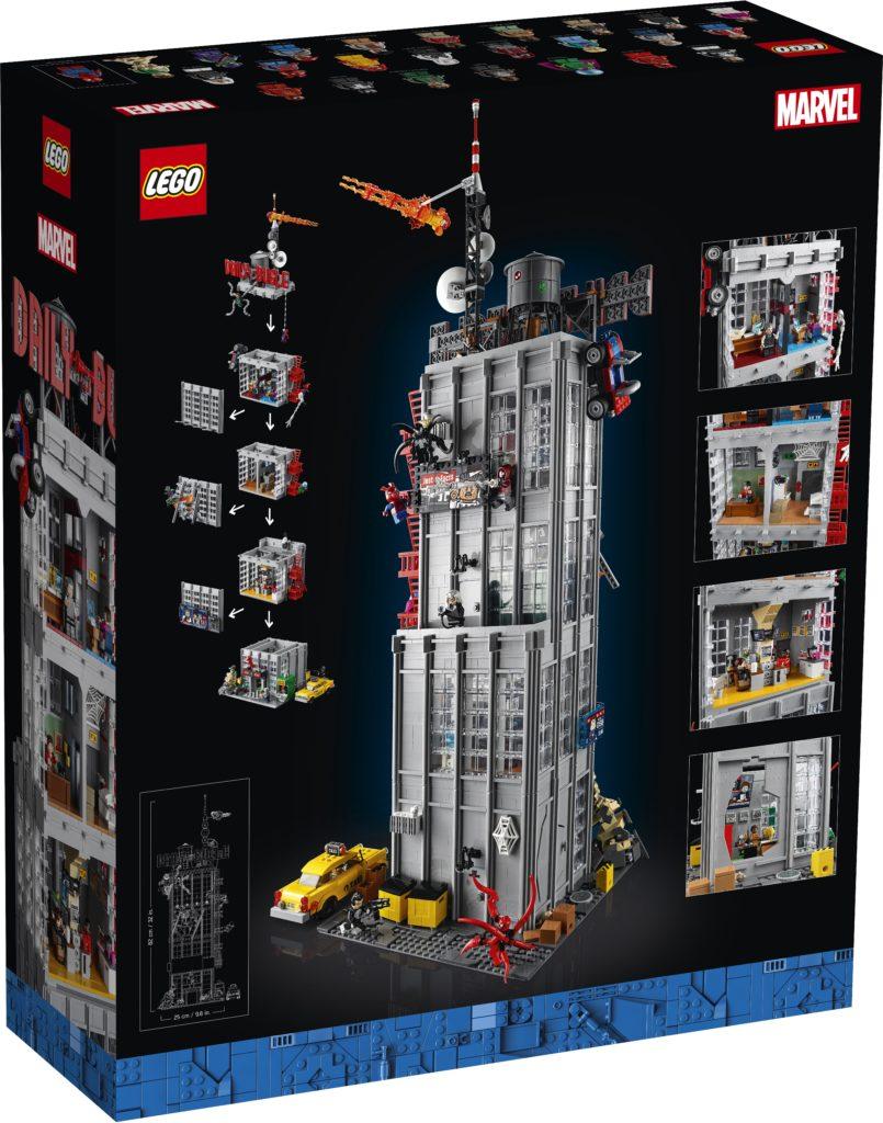 LEGO Marvel 76178 Daily Bugle 4