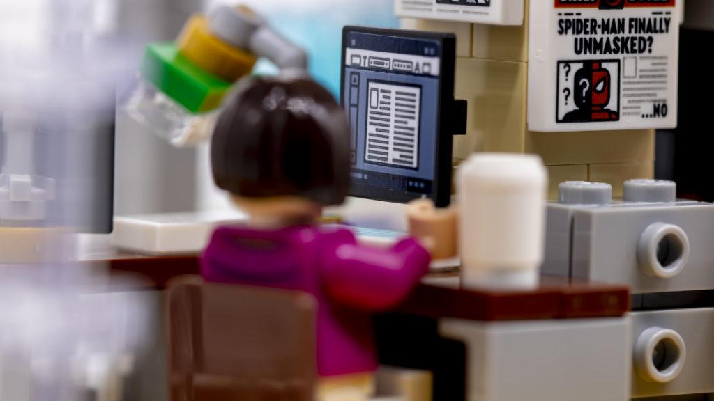 LEGO Marvel 76178 Daily Bugle 40a