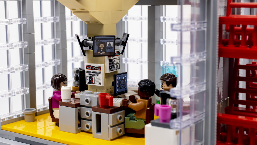 LEGO Marvel 76178 Daily Bugle 42a