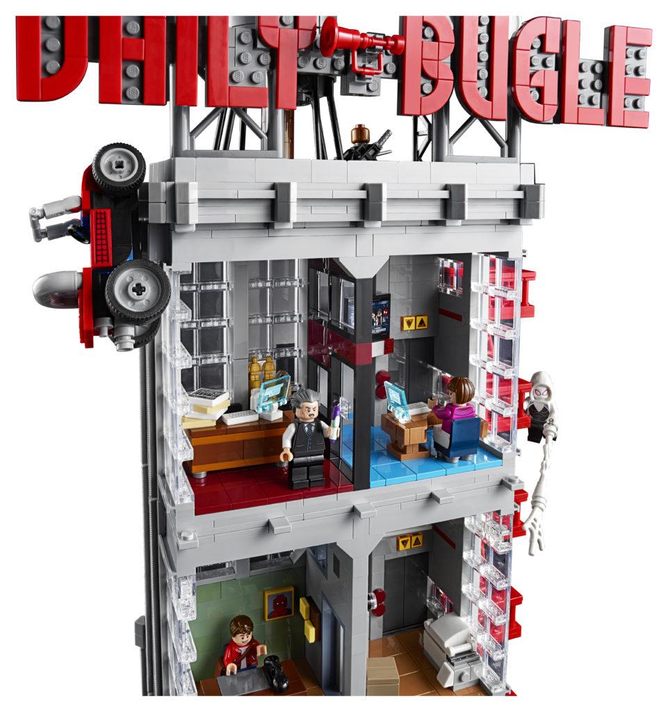 LEGO Marvel 76178 Daily Bugle 5