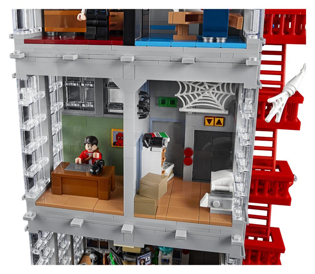 LEGO Marvel 76178 Daily Bugle 6