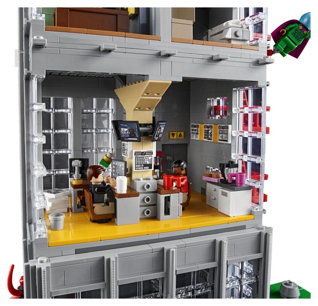 LEGO Marvel 76178 Daily Bugle 7