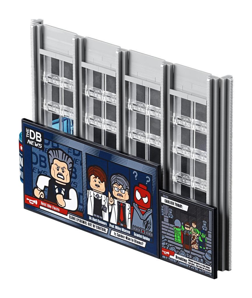 Lego Marvel 76178 နေ့စဉ် Bugle 8