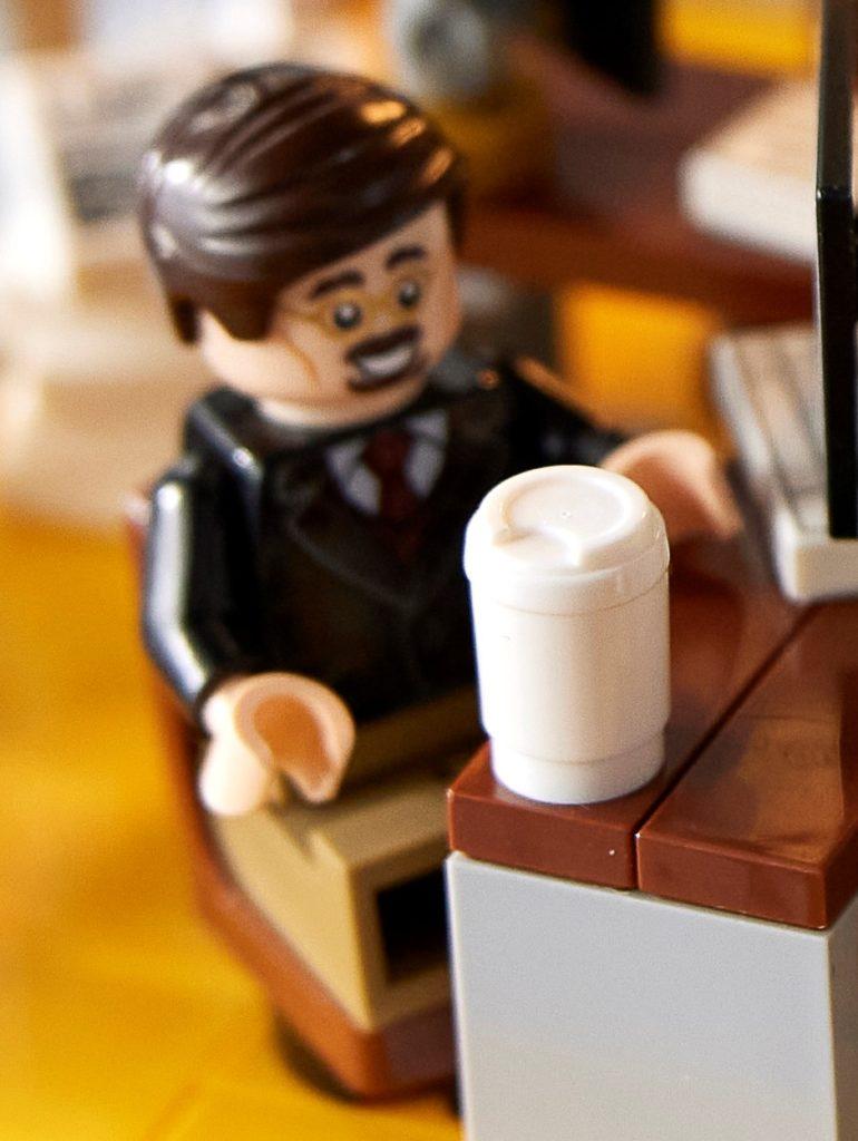 LEGO Marvel 76178 Daily Bugle Ben Urich