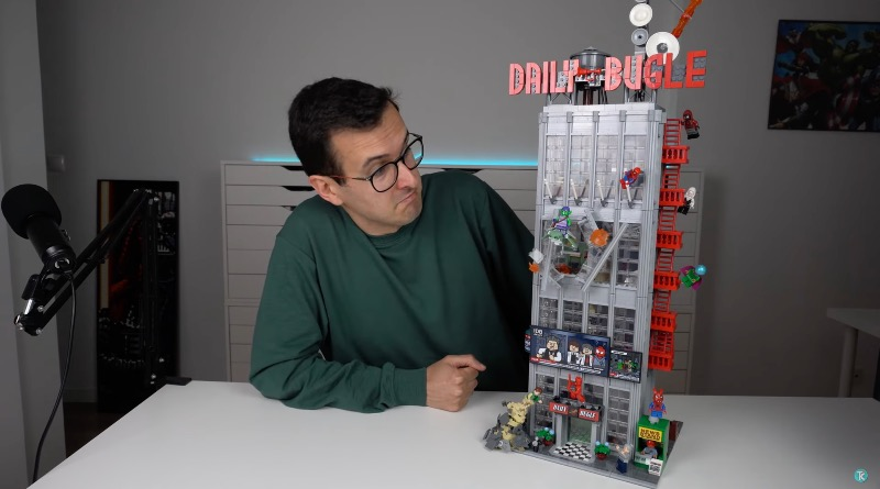 LEGO Marvel 76178 Daily Bugle First Look Featured