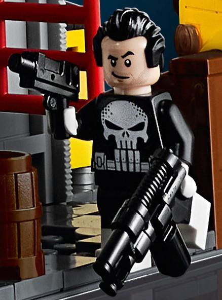 LEGO Marvel 76178 Daily Bugle punisher