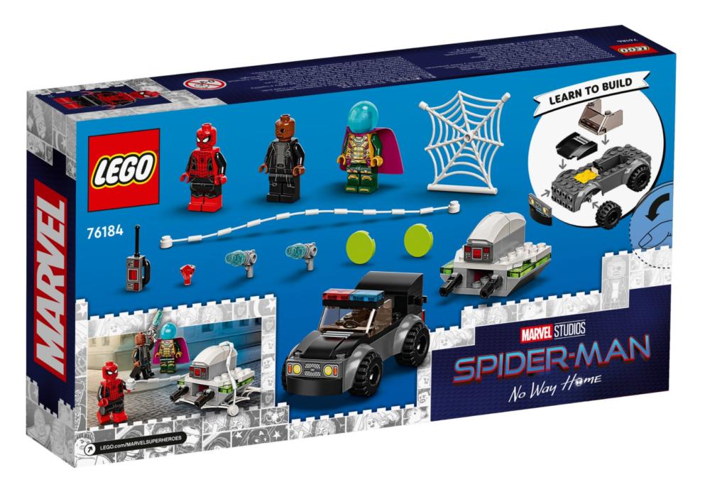 LEGO Marvel 76184 Spider Man vs. Mysterios Drone Attack 1