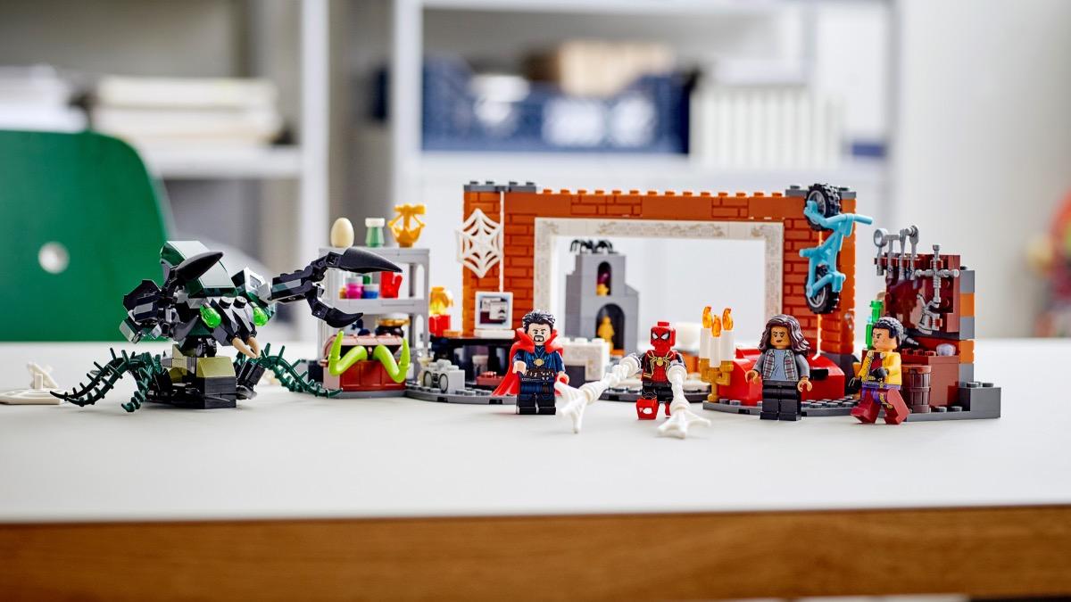 LEGO Marvel 76185 Spider Man At The Sanctum Workshop Featured Resized