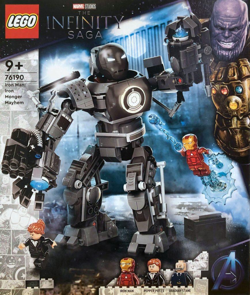 LEGO Marvel 76190 Iron Man Iron Monger Mayhem