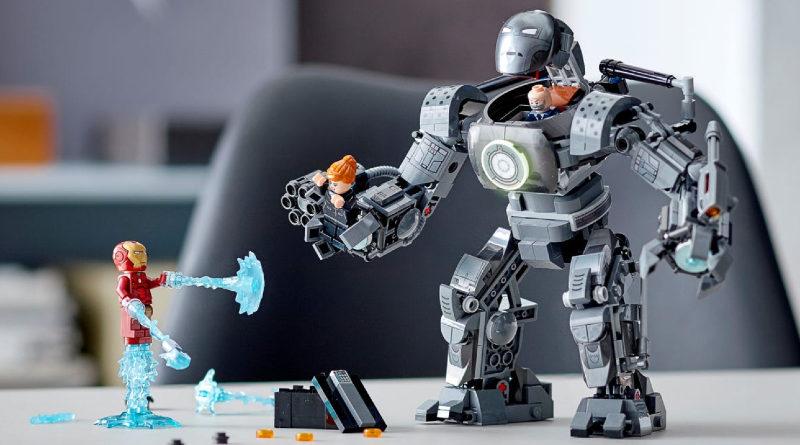 LEGO Marvel 76190 Iron Man Iron Monger Mayhem featured
