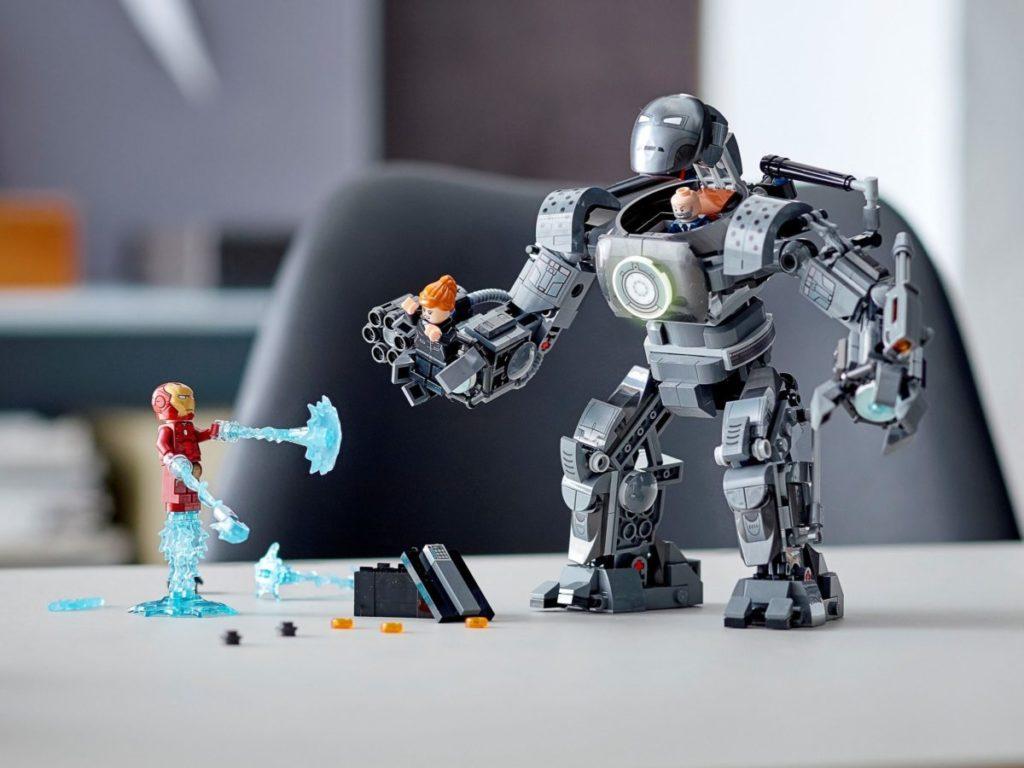 Lego Marvel XNUMX Iron Monger Mayhem