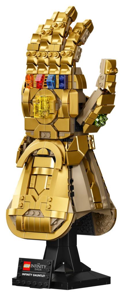 LEGO Marvel 76191 Infinity Gauntlet contents