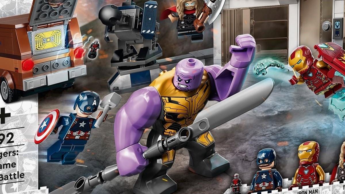 LEGO Marvel 76192 Avengers Endgame Final Battle Thanos Bigfig Box Art Featured