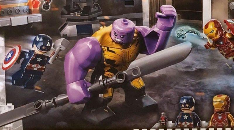 LEGO Marvel 76192 Avengers Endgame Final Battle Thanos featured