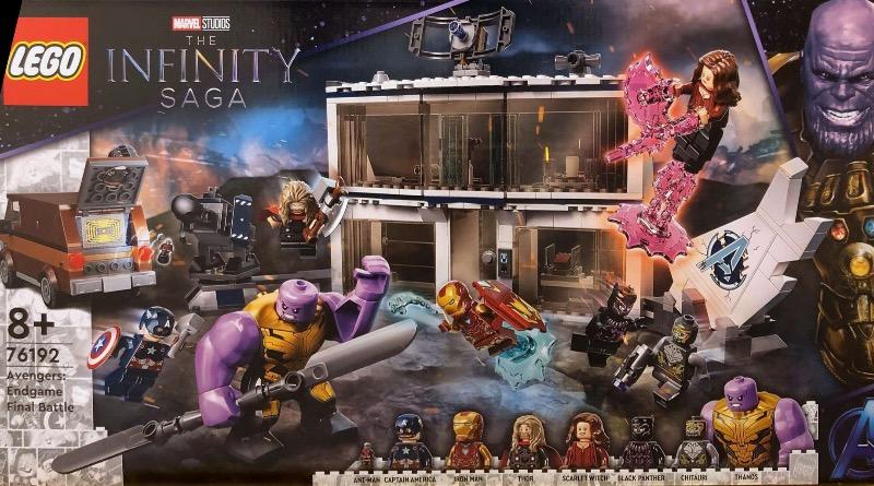 LEGO Marvel 76192 Avengers Endgame Final Battle Featured