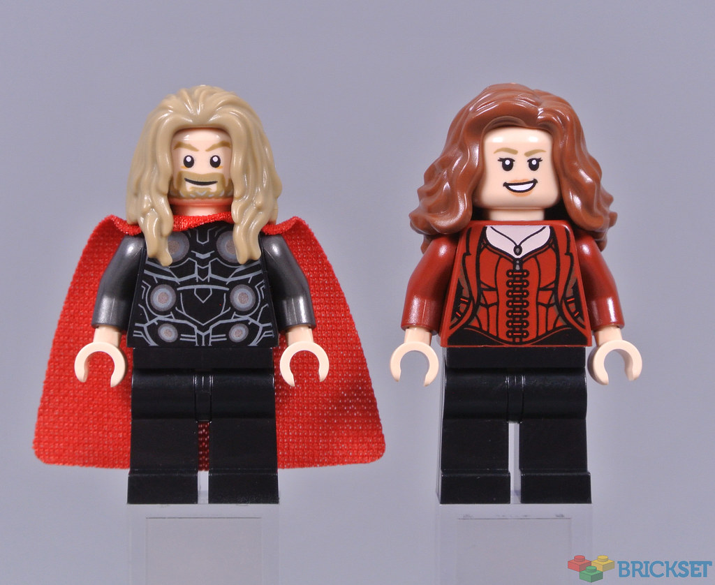 LEGO Marvel 76192 Avengers Endgame Final Battle first look minifigures 1