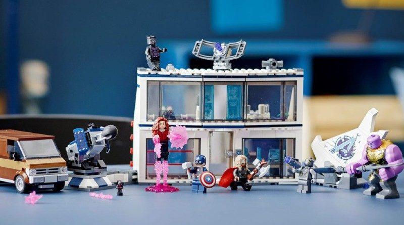 LEGO Marvel 76192 Avengers Endgame final battle lifestyle featured