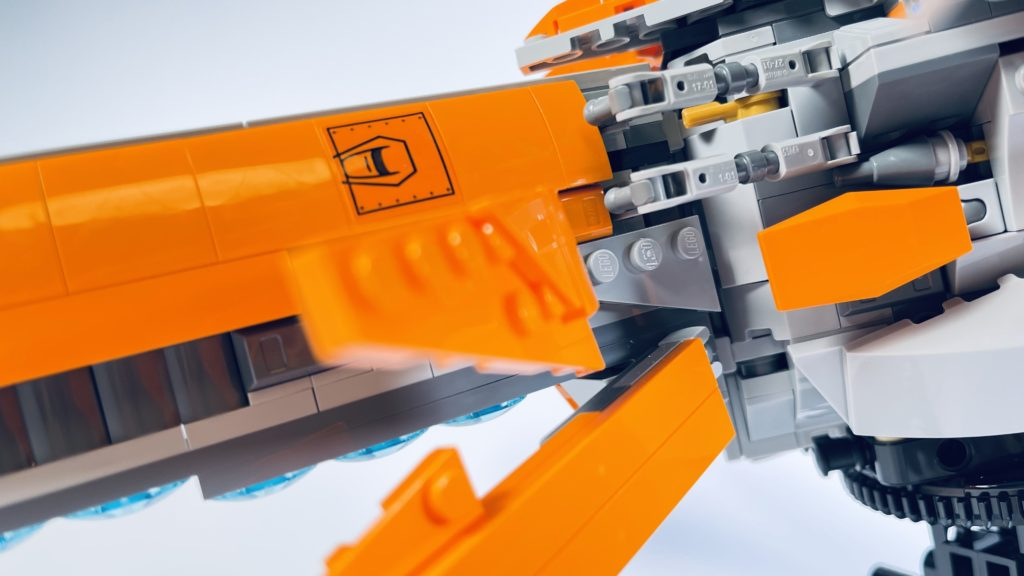 LEGO Marvel 76193 The Guardians Ship review 10