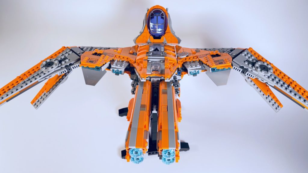 LEGO Marvel 76193 The Guardians Ship review 14