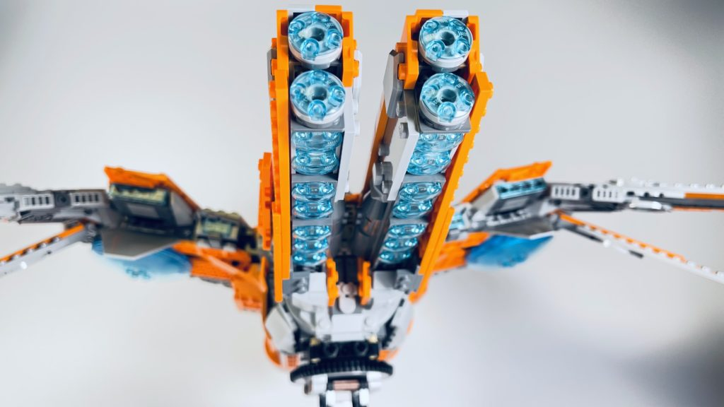 LEGO Marvel 76193 The Guardians Ship review 15