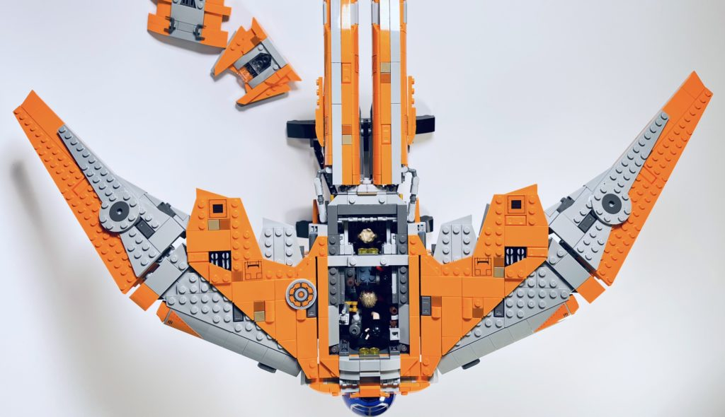 LEGO Marvel 76193 The Guardians Ship review 16