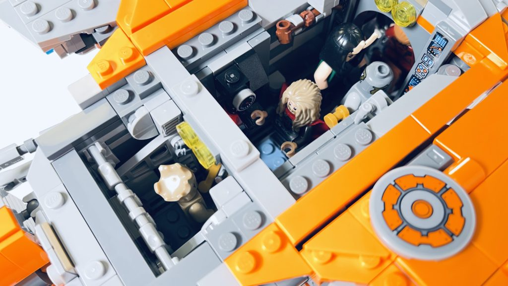LEGO Marvel 76193 The Guardians Ship review 19