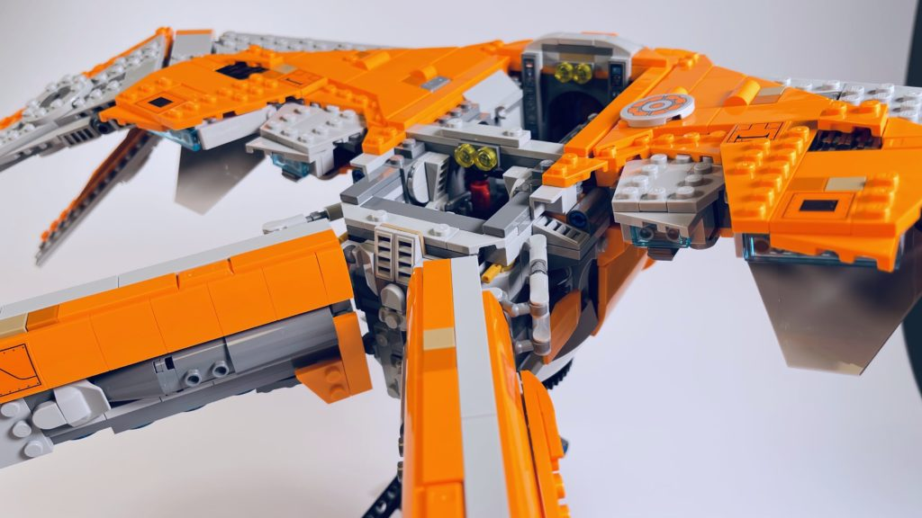 LEGO Marvel 76193 The Guardians Ship review 23