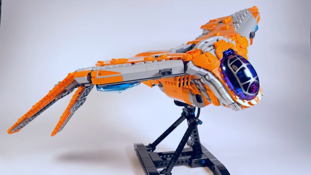 LEGO Marvel 76193 The Guardians Ship review 24