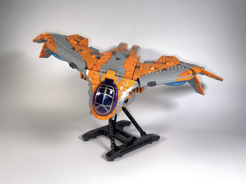 LEGO Marvel 76193 The Guardians Ship review 3