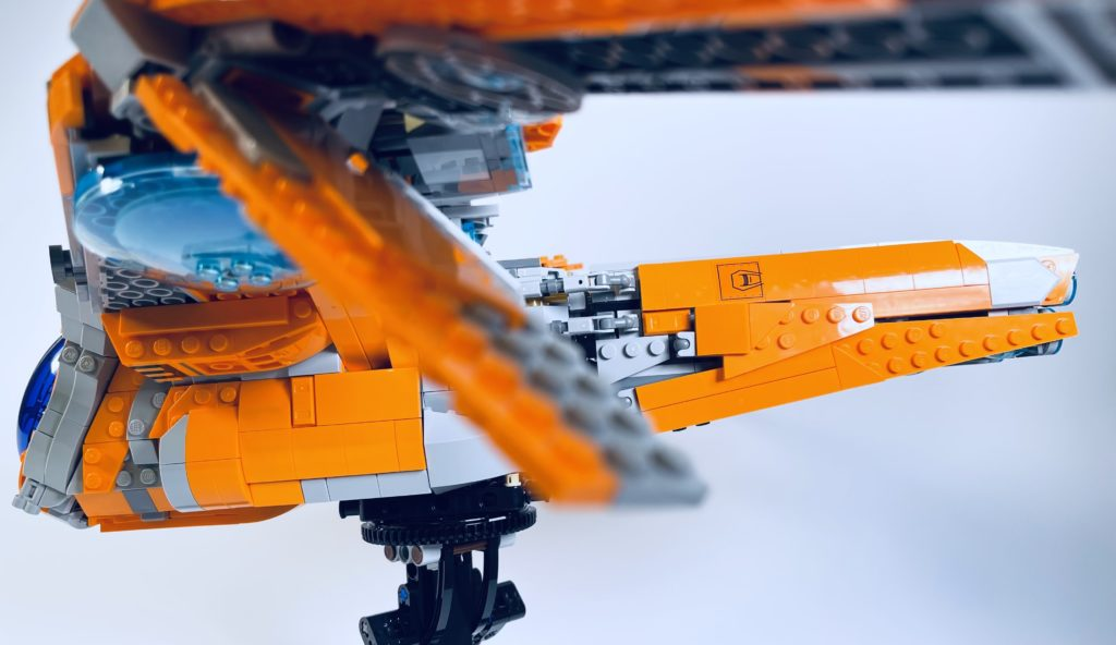 LEGO Marvel 76193 The Guardians Ship review 33