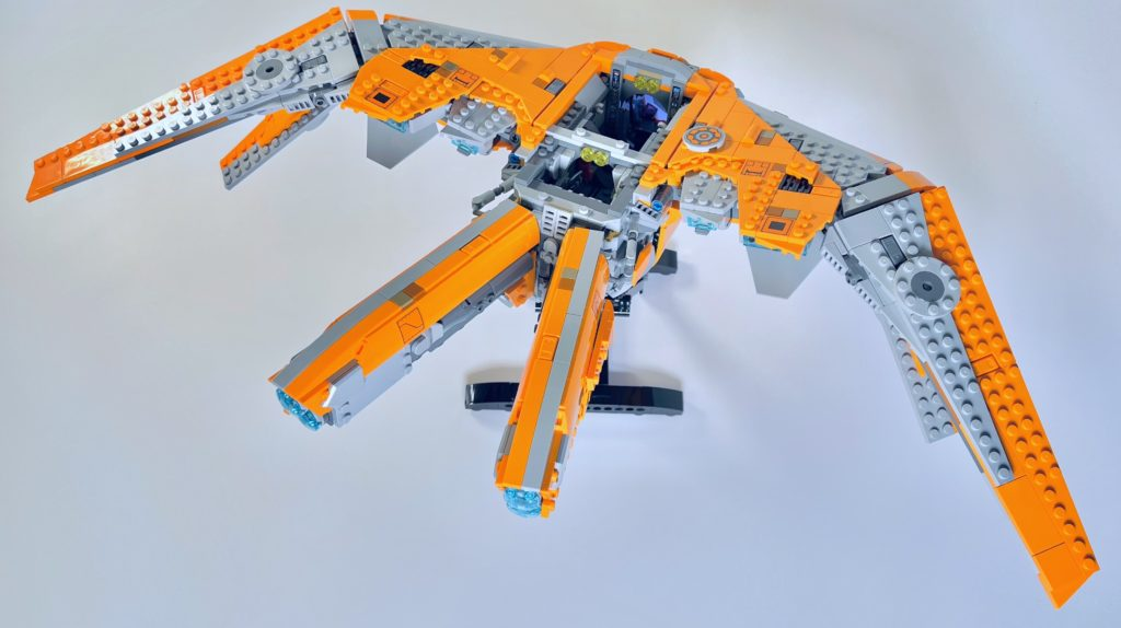 LEGO Marvel 76193 The Guardians Ship review 34