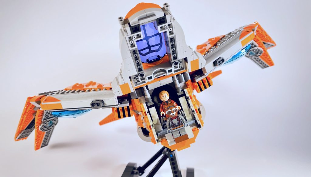 LEGO Marvel 76193 The Guardians Ship review 4