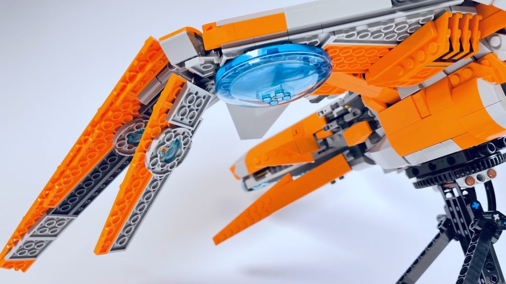 LEGO Marvel 76193 The Guardians Ship review 5