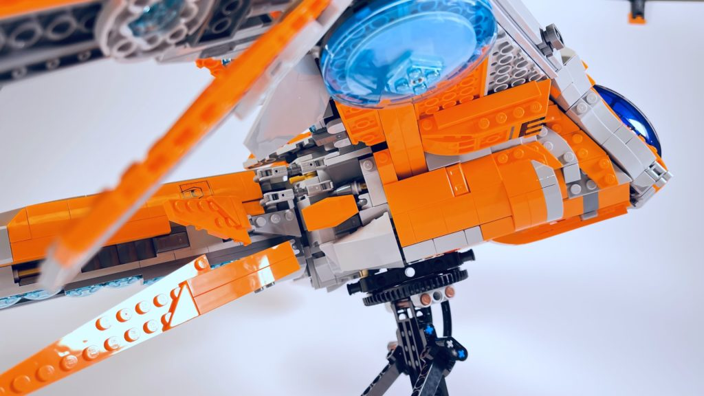 LEGO Marvel 76193 The Guardians Ship review 9