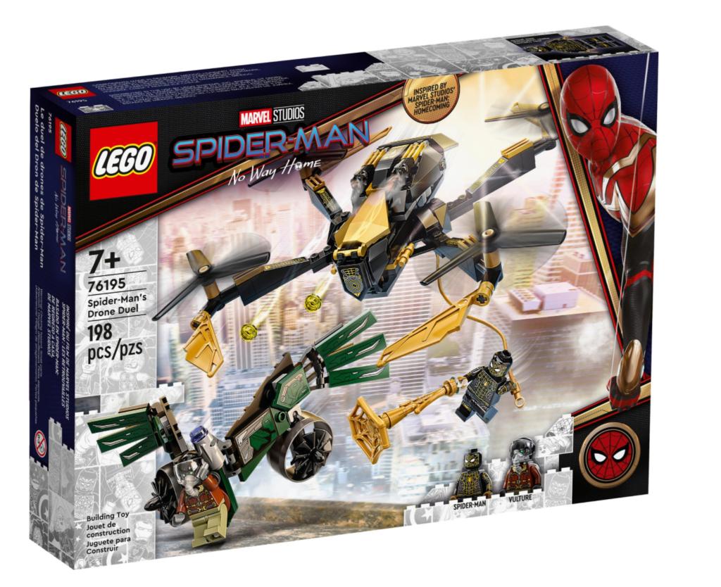 LEGO Marvel 76195 Spider Mans Drone Duel