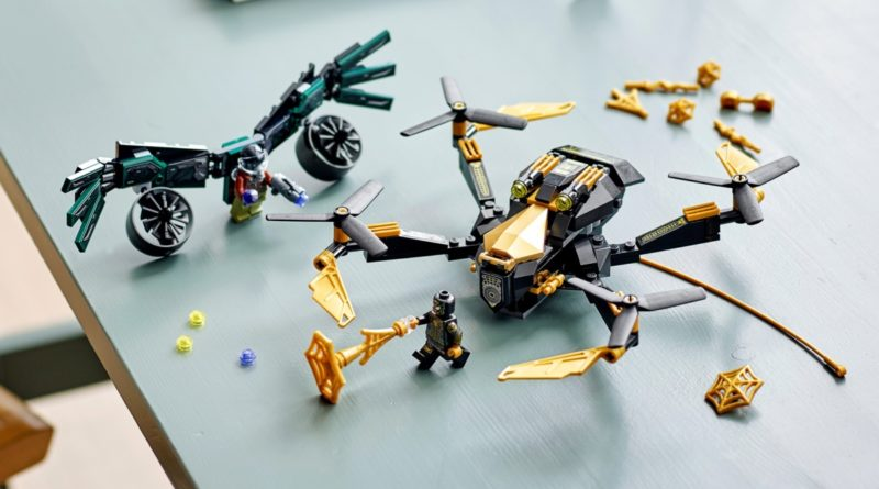 LEGO Marvel 76195 Spider Mans Drone Duel featured