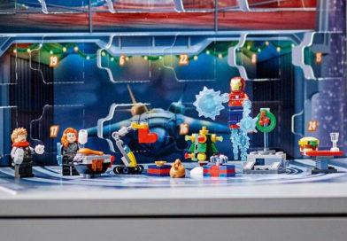 LEGO Marvel Advent Calendar 2021 revealed with seasonal builds
