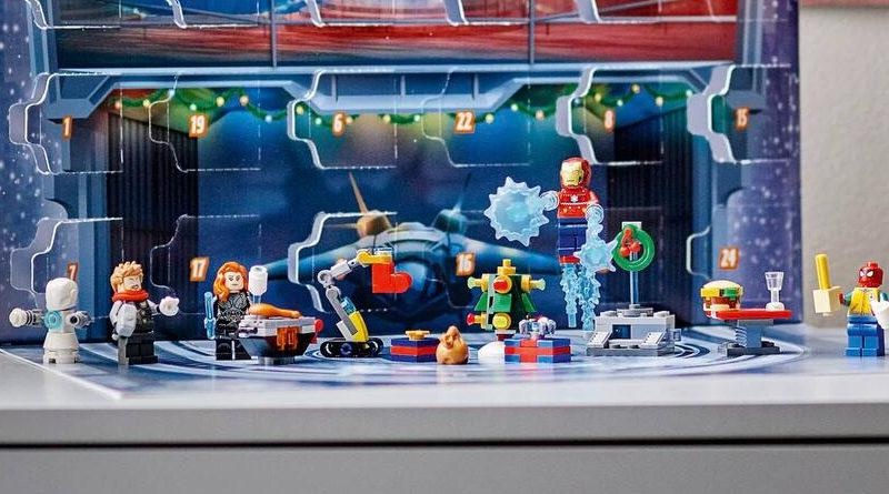 LEGO Marvel 76196 The Avengers Advent Calendar featured