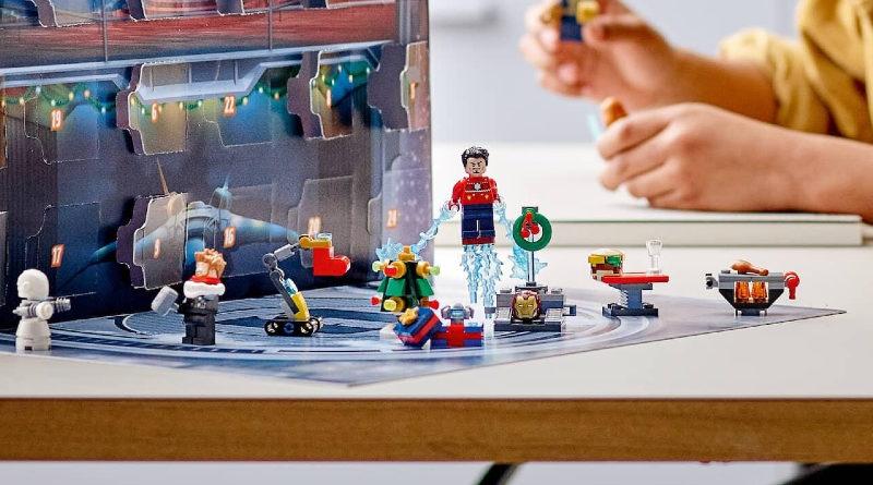 LEGO Marvel 76196 The Avengers Advent Calendar lifestyle 2 featured