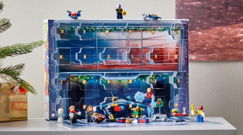 LEGO Marvel 76196 The Avengers Advent Calendar lifestyle 2 resized featured