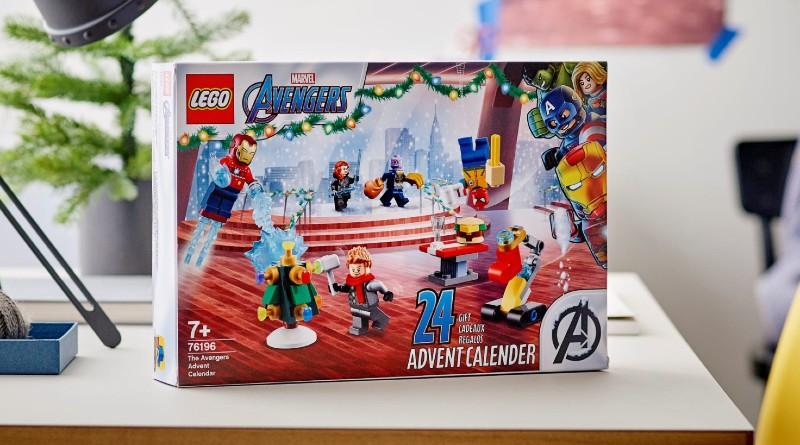 LEGO Marvel 76196 The Avengers Advent Calendar Lifestyle 3 Featured