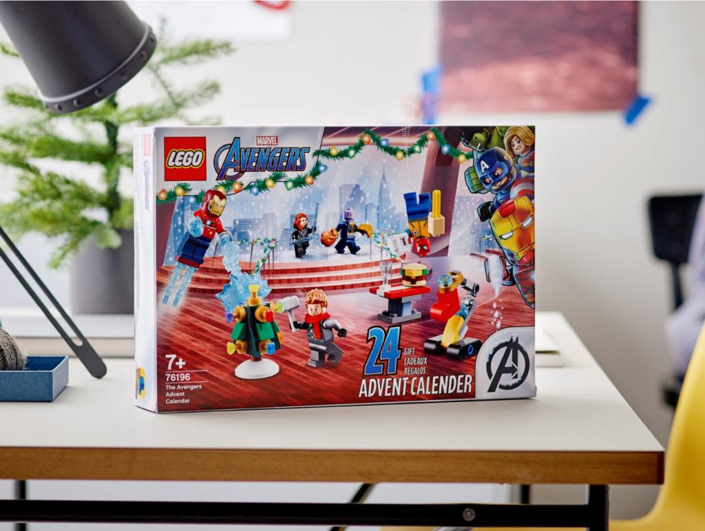 LEGO Marvel 76196 The Avengers Advent Calendar lifestyle 3